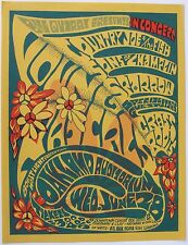 Concert Handbill: Grateful Dead, Rascals, Country Joe, Grass Roots. Oakland 1967