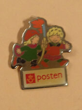OLYMPIC PIN´S - LILLEHAMMER 1994 - POSTEN MASCOTS - PIN BADGE - GAMES (E199)