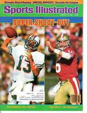 1985 (1/21) Sports Illustrated, Football magazine, Dan Marino, Joe Montana ~ VG