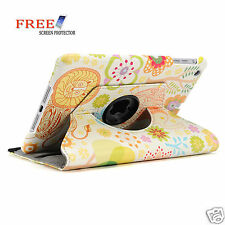 Floral Forest 360 Rotating Flower Pu Leather Smart Cover Case for iPad mini 2 1