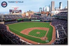 BASEBALL POSTER Minnesota Twins Stadium Target Field 2010