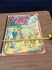 """Vintage 1976 The Wizard Of Oz By L. Frank Baum Giant Coloring Book 17"""" X 22"""""""