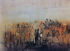 Joseph Kossonogi Painting Print Kadish Landscape Gallery Decor Wall Gift Home