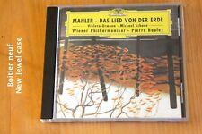 Mahler - Das Lied von der Erde Chant de la Terre - Pierre Boulez - CD Deutsche G