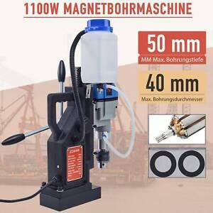 1100W Magnetbohrmaschine Kernbohrmaschine Bohrmaschine mit Kühlmitteltank