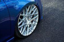 "19"" Rotiform BLQ Silver Machined Wheel 8.5x19 5x112 ET45 Backspace 6.52"