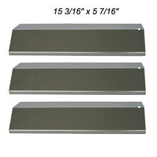 Tuscany BBQ Gas Grill Replacement Stainless Steel Heat Plate SPX031 - 3 Pack