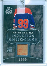 "WAYNE GRETZKY ""SHOWCASE GAME USED MEMORABILIA /30"" LEAF ENSHRINED HOCKEY 2016"