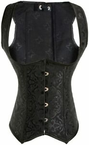Alivila.Y Fashion Corset Womens Faux Leather Steampunk Corsets Victorian Bustier