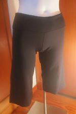 LULULEMON Athletica womens Cropped CAPRI Pant Yoga workout Gym size 4 Black