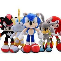 "Sonic The Hedgehog 17"" Plush Toy Stuffed Soft Doll New with Tag Gift For Kids"