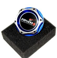 FOR NISSAN NISMO JDM BLUE BILLET ENGINE OIL CAP GTR 350z G37 SILVIA 370z 240SX