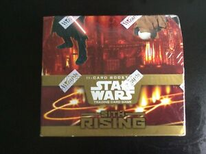 Star Wars TCG: Sith Rising Booster Display (SEALED)