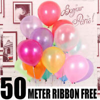 """50 X 5"""" Small Round Latex Best Balloons Quality Standard 5"""" inch Balloons Mix Uk"""