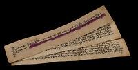 Manuscrito Tibetano Antiguo -antiguo Mantra Budista 5 pages-Tibet-9144