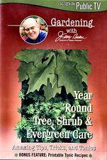 USED  DVD // Jerry Baker: Year Round Tree Shrub Evergreen Care// GARDENING