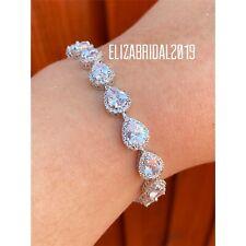 Vine Art Deco  bracelet Zirconia bridal bracelet bridesmaid bracelet Jewellery