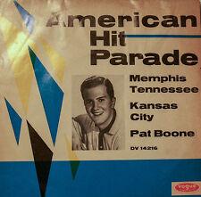 "PAT BOONE MEMPHIS TENNESSEE - KANSAS CITY - VOGUE RECORDS 7""SINGLES (h289)"