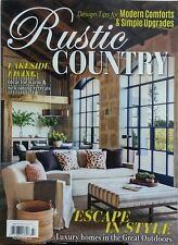 Rustic Country Fall 2017 Lakeside Living Escape In Style Homes FREE SHIPPING sb