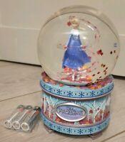 SNOW GLOBE Limited Edition FROZEN II / 2 MUSICAL Disneyland Paris
