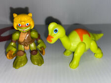 Teenage Mutant Ninja Turtles Half-Shell Heroes Mikey & Brachiosaurus Figures