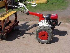Einachsschlepper, Einachser, Traktor, ISEKI mit Anhänger und Differential.