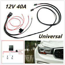 1pc 12V Car Wiring Connector Cable Harness High Beam for LED Light Bar Fog Light