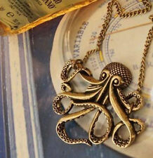 NEW Retro Pirates of Caribbean Animal Octopus Pendant Necklace