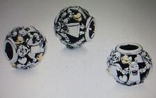 Orig Pandora Charm FAMILIE FOREVER 14K Bicolor 791040 Silber 925 Neu!