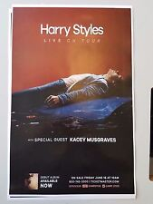 Harry Styles world tour concert 11x17 promo advert poster One direction tickets