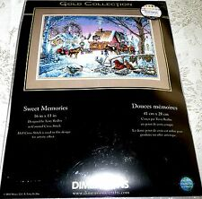 "Dimensions Gold Collection Counted Cross Stitch Kit SWEET MEMORIES 16"" x 11"""