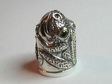 FROG STERLING SILVER THIMBLE  - NEW (LAST ONES IN STOCK!!)