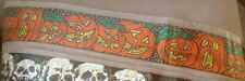 Halloween Orange and Black Pumpkin Banner