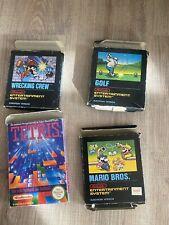 Nintendo Nes Konvolut Spiele, OVP Sammlung