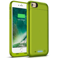 F Apple iPhone 6s Plus, 6 Plus 6800mAh Power bank Charging Battery Case USA Ship