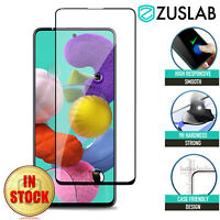 For Samsung Galaxy A51 ZUSLAB Full Cover Tempered Glass Screen Protector