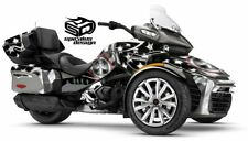 "Can Am Spyder F3-LTD Decal Graphic Wrap kit - ""Patriot Captain Midnight"""