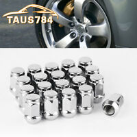 20 Lug Nuts Bulge Acorn 12x1.5 Chrome Wheel Nuts Fits Ford Fusion Focus Escape