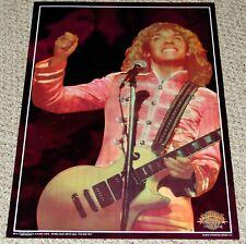 SGT. PEPPER'S Movie PETER FRAMPTON Gibson Les Paul Pink Foil Mylar Poster 1978