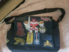 Mighty Morphin Power Rangers Messenger Shoulder Bag Original 90s Vintage