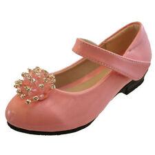 Scarpe rosa medio con chiusura a strappo per bambine dai 2 ai 16 anni