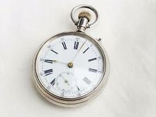 Rare Dual dial Chronograph pocket watch Swiss made .No 198