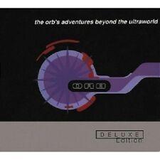 "THE ORB ""ADVENTURES BEYOND THE..."" 3 CD SET NEUWARE!!!!"