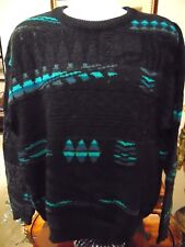 Serge Saint Yves Men's Coogie/Cosby style Sweater XL