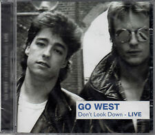 GO WEST : DONT LOOK DOWN - LIVE / CD - NEU