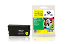 Jet Tec HP951Y XL inkjet cartridge high quality replacement for Hewlett Packard