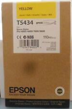 Epson T5434 Tinte yellow Stylus Pro 4000 4400 7600 9600