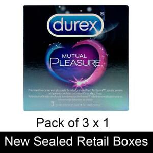 Durex Mutual Climax Performax Condoms Ribbed and Dotted Delay Him Pack of 12 Box