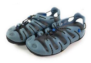 Mion GSR Water Sport Sandals Womens Size US 9 EU 40 Shoes Steel Blue