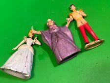 Disney Mattel inc,1992,Cinderella once upon a time,playset 3 figure,s,